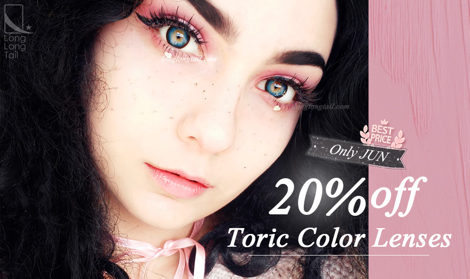 best online store to get toric colored contact lenses for astigmatism at low and cheap price